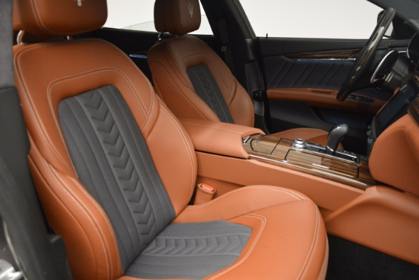 New 2017 Maserati Quattroporte S Q4 GranLusso for sale Sold at Aston Martin of Greenwich in Greenwich CT 06830 18