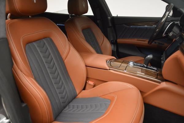 New 2017 Maserati Quattroporte S Q4 GranLusso for sale Sold at Aston Martin of Greenwich in Greenwich CT 06830 19