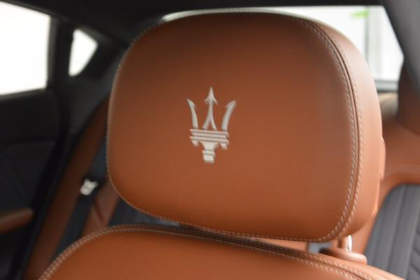 New 2017 Maserati Quattroporte S Q4 GranLusso for sale Sold at Aston Martin of Greenwich in Greenwich CT 06830 20