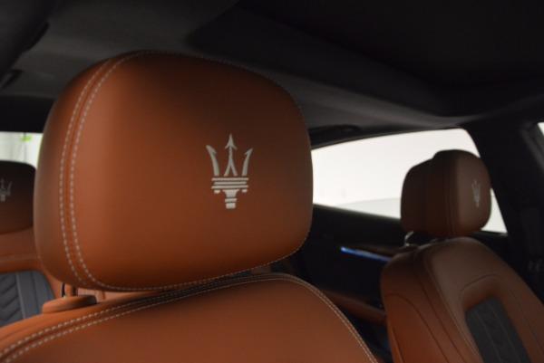 New 2017 Maserati Quattroporte S Q4 GranLusso for sale Sold at Aston Martin of Greenwich in Greenwich CT 06830 21