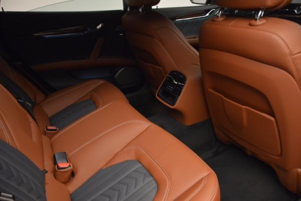 New 2017 Maserati Quattroporte S Q4 GranLusso for sale Sold at Aston Martin of Greenwich in Greenwich CT 06830 26
