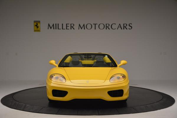 Used 2003 Ferrari 360 Spider 6-Speed Manual for sale Sold at Aston Martin of Greenwich in Greenwich CT 06830 12