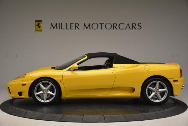 Used 2003 Ferrari 360 Spider 6-Speed Manual for sale Sold at Aston Martin of Greenwich in Greenwich CT 06830 15