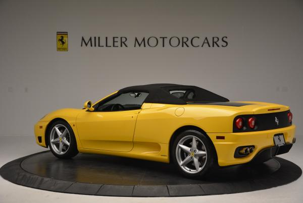 Used 2003 Ferrari 360 Spider 6-Speed Manual for sale Sold at Aston Martin of Greenwich in Greenwich CT 06830 16