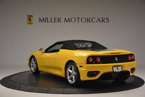 Used 2003 Ferrari 360 Spider 6-Speed Manual for sale Sold at Aston Martin of Greenwich in Greenwich CT 06830 17