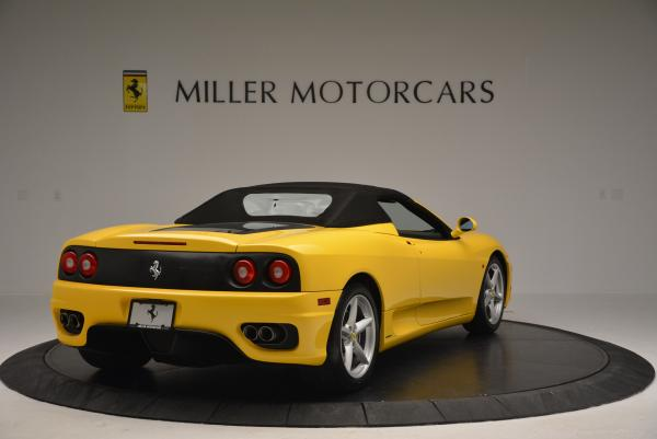 Used 2003 Ferrari 360 Spider 6-Speed Manual for sale Sold at Aston Martin of Greenwich in Greenwich CT 06830 19