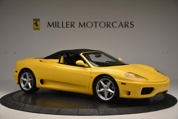 Used 2003 Ferrari 360 Spider 6-Speed Manual for sale Sold at Aston Martin of Greenwich in Greenwich CT 06830 22