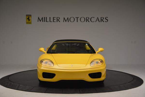 Used 2003 Ferrari 360 Spider 6-Speed Manual for sale Sold at Aston Martin of Greenwich in Greenwich CT 06830 24
