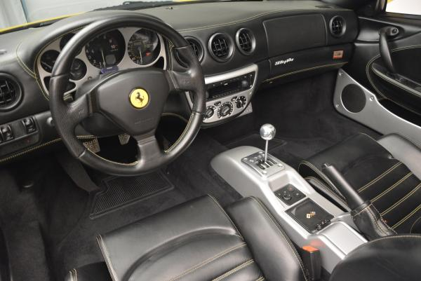 Used 2003 Ferrari 360 Spider 6-Speed Manual for sale Sold at Aston Martin of Greenwich in Greenwich CT 06830 25