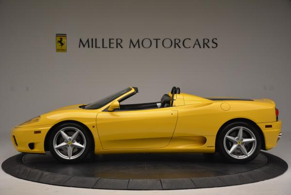 Used 2003 Ferrari 360 Spider 6-Speed Manual for sale Sold at Aston Martin of Greenwich in Greenwich CT 06830 3