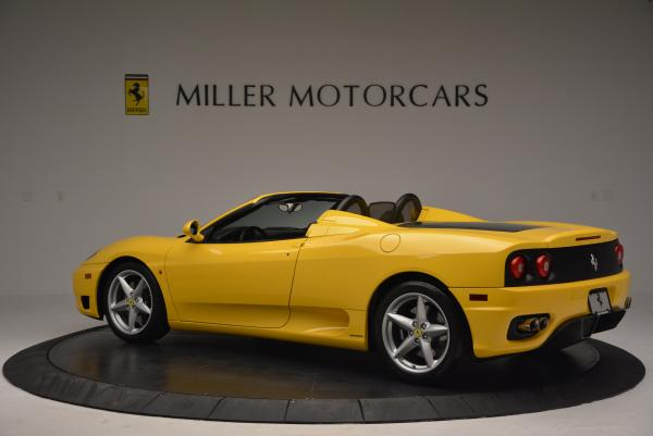 Used 2003 Ferrari 360 Spider 6-Speed Manual for sale Sold at Aston Martin of Greenwich in Greenwich CT 06830 4