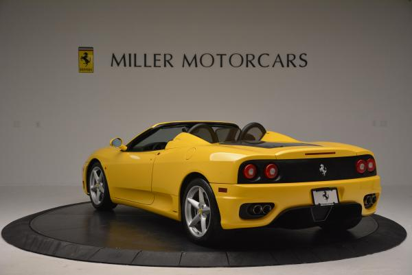 Used 2003 Ferrari 360 Spider 6-Speed Manual for sale Sold at Aston Martin of Greenwich in Greenwich CT 06830 5