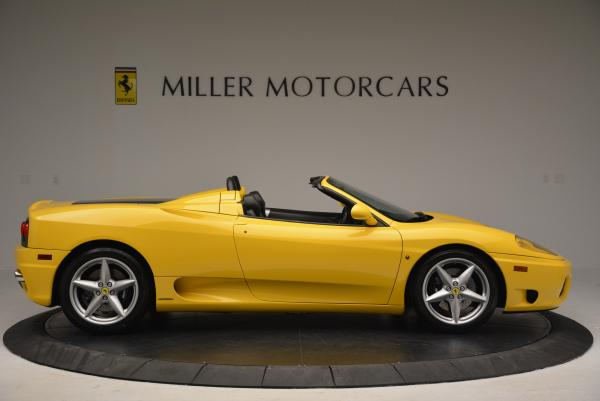 Used 2003 Ferrari 360 Spider 6-Speed Manual for sale Sold at Aston Martin of Greenwich in Greenwich CT 06830 9