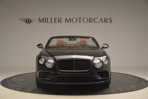 Used 2017 Bentley Continental GTC V8 S for sale $159,900 at Aston Martin of Greenwich in Greenwich CT 06830 12
