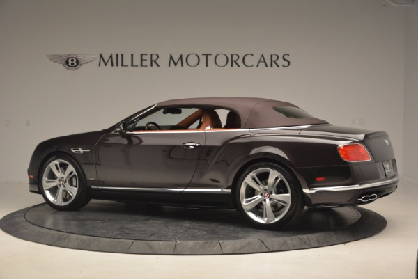 Used 2017 Bentley Continental GTC V8 S for sale $159,900 at Aston Martin of Greenwich in Greenwich CT 06830 16