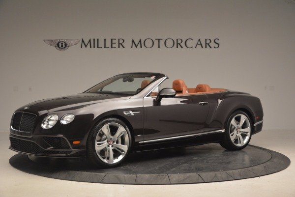 Used 2017 Bentley Continental GTC V8 S for sale $159,900 at Aston Martin of Greenwich in Greenwich CT 06830 2