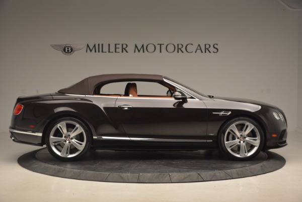 Used 2017 Bentley Continental GTC V8 S for sale $159,900 at Aston Martin of Greenwich in Greenwich CT 06830 21