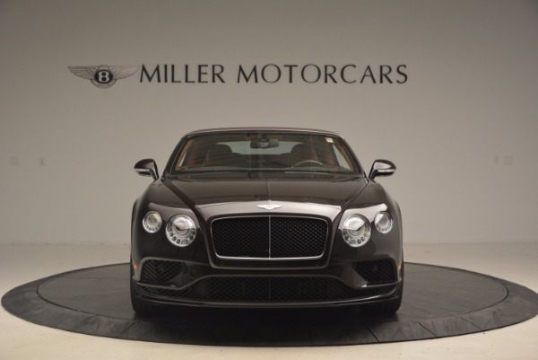 Used 2017 Bentley Continental GTC V8 S for sale $159,900 at Aston Martin of Greenwich in Greenwich CT 06830 24