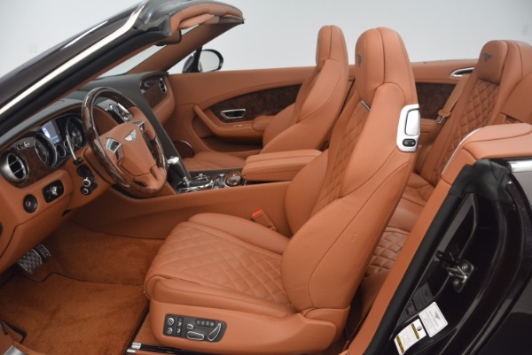 Used 2017 Bentley Continental GTC V8 S for sale $159,900 at Aston Martin of Greenwich in Greenwich CT 06830 28