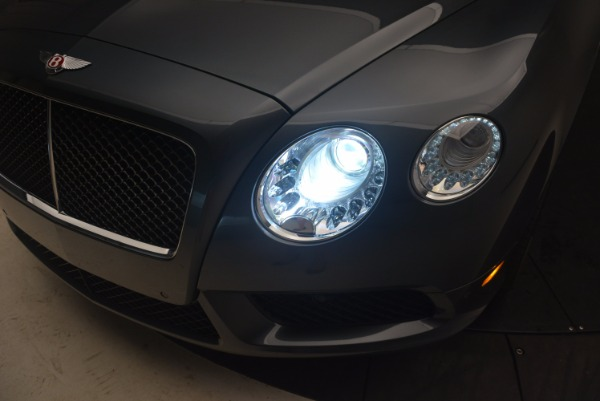 Used 2013 Bentley Continental GT V8 Le Mans Edition, 1 of 48 for sale Sold at Aston Martin of Greenwich in Greenwich CT 06830 28