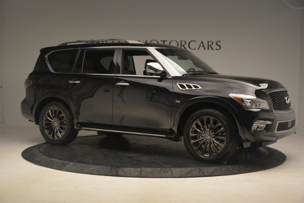 Used 2015 INFINITI QX80 Limited 4WD for sale Sold at Aston Martin of Greenwich in Greenwich CT 06830 10