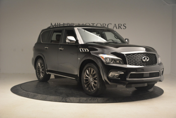 Used 2015 INFINITI QX80 Limited 4WD for sale Sold at Aston Martin of Greenwich in Greenwich CT 06830 11