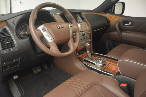 Used 2015 INFINITI QX80 Limited 4WD for sale Sold at Aston Martin of Greenwich in Greenwich CT 06830 15
