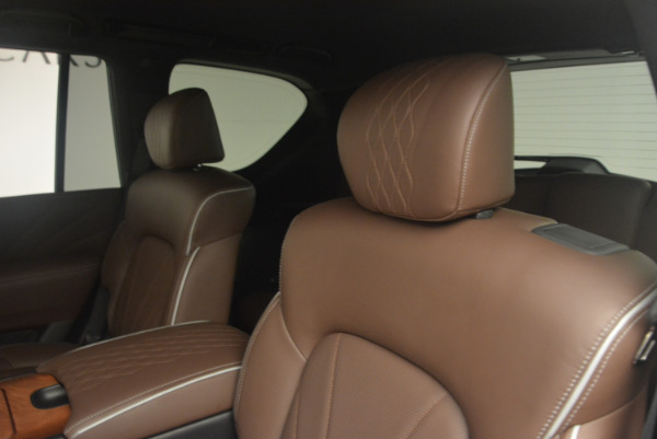 Used 2015 INFINITI QX80 Limited 4WD for sale Sold at Aston Martin of Greenwich in Greenwich CT 06830 17