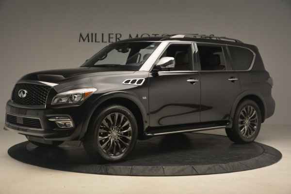 Used 2015 INFINITI QX80 Limited 4WD for sale Sold at Aston Martin of Greenwich in Greenwich CT 06830 2