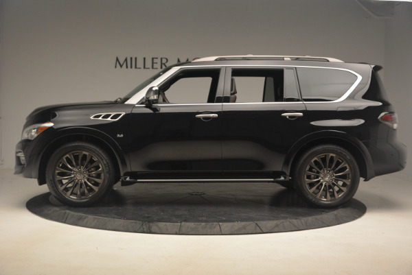 Used 2015 INFINITI QX80 Limited 4WD for sale Sold at Aston Martin of Greenwich in Greenwich CT 06830 3