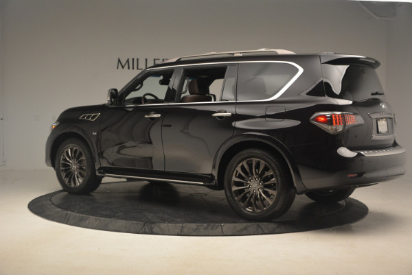 Used 2015 INFINITI QX80 Limited 4WD for sale Sold at Aston Martin of Greenwich in Greenwich CT 06830 4