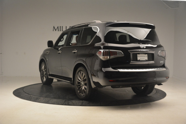 Used 2015 INFINITI QX80 Limited 4WD for sale Sold at Aston Martin of Greenwich in Greenwich CT 06830 5