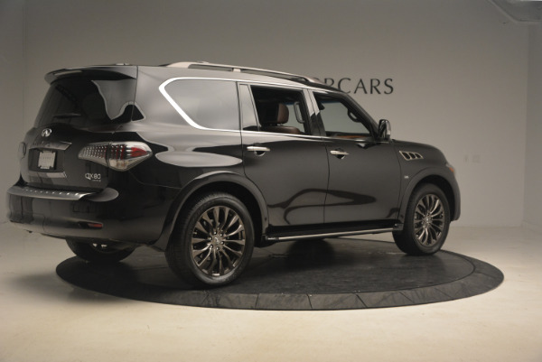 Used 2015 INFINITI QX80 Limited 4WD for sale Sold at Aston Martin of Greenwich in Greenwich CT 06830 8
