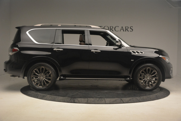 Used 2015 INFINITI QX80 Limited 4WD for sale Sold at Aston Martin of Greenwich in Greenwich CT 06830 9