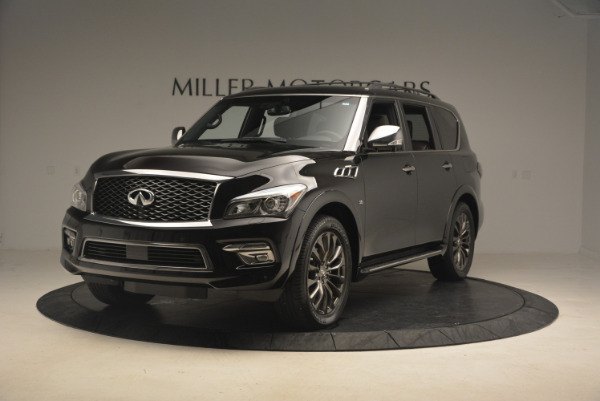 Used 2015 INFINITI QX80 Limited 4WD for sale Sold at Aston Martin of Greenwich in Greenwich CT 06830 1