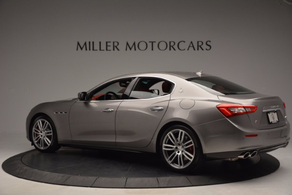 Used 2015 Maserati Ghibli S Q4 for sale Sold at Aston Martin of Greenwich in Greenwich CT 06830 4