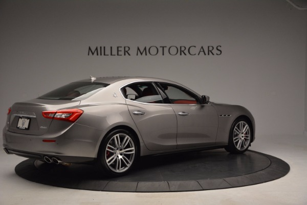Used 2015 Maserati Ghibli S Q4 for sale Sold at Aston Martin of Greenwich in Greenwich CT 06830 8
