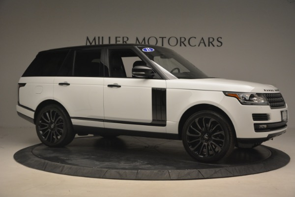 Used 2015 Land Rover Range Rover Supercharged for sale Sold at Aston Martin of Greenwich in Greenwich CT 06830 10