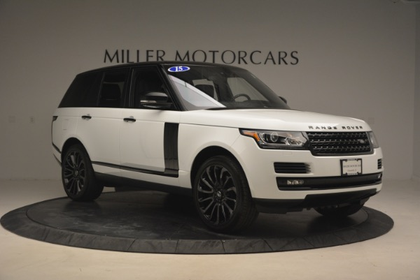 Used 2015 Land Rover Range Rover Supercharged for sale Sold at Aston Martin of Greenwich in Greenwich CT 06830 11