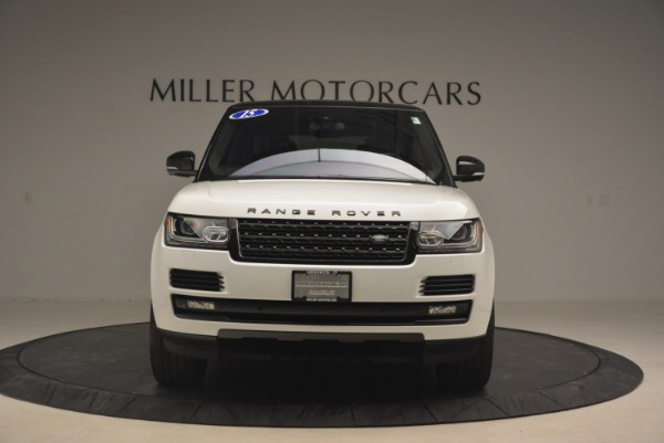 Used 2015 Land Rover Range Rover Supercharged for sale Sold at Aston Martin of Greenwich in Greenwich CT 06830 12