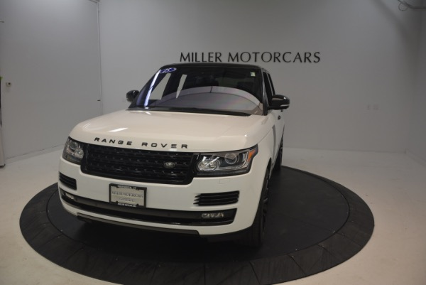 Used 2015 Land Rover Range Rover Supercharged for sale Sold at Aston Martin of Greenwich in Greenwich CT 06830 13