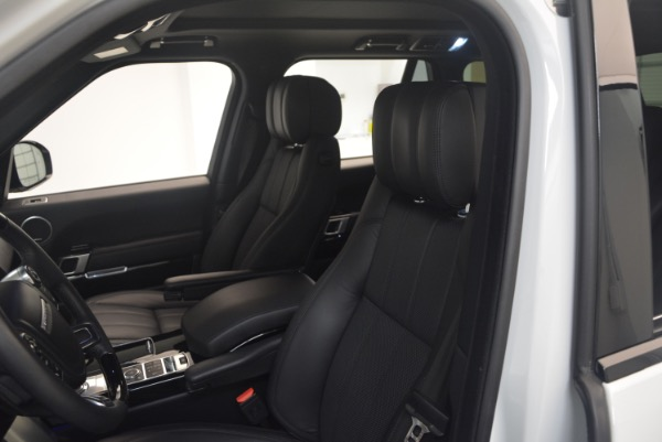 Used 2015 Land Rover Range Rover Supercharged for sale Sold at Aston Martin of Greenwich in Greenwich CT 06830 19