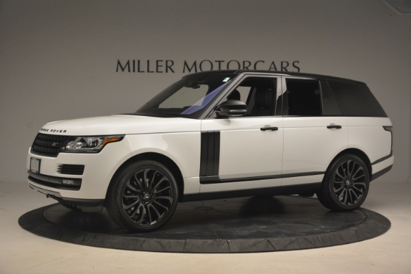 Used 2015 Land Rover Range Rover Supercharged for sale Sold at Aston Martin of Greenwich in Greenwich CT 06830 2