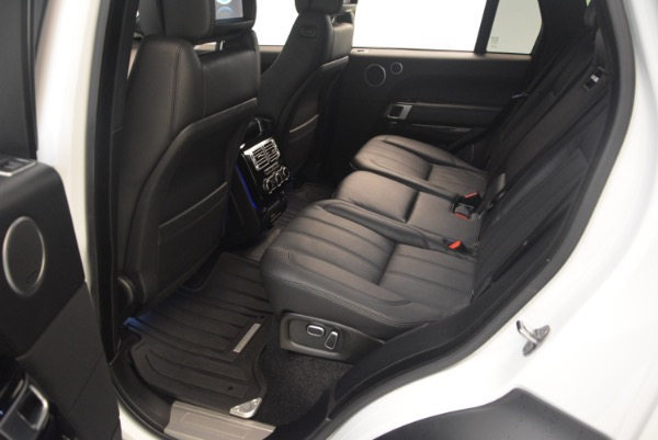 Used 2015 Land Rover Range Rover Supercharged for sale Sold at Aston Martin of Greenwich in Greenwich CT 06830 23