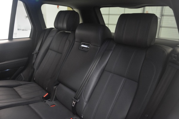 Used 2015 Land Rover Range Rover Supercharged for sale Sold at Aston Martin of Greenwich in Greenwich CT 06830 25