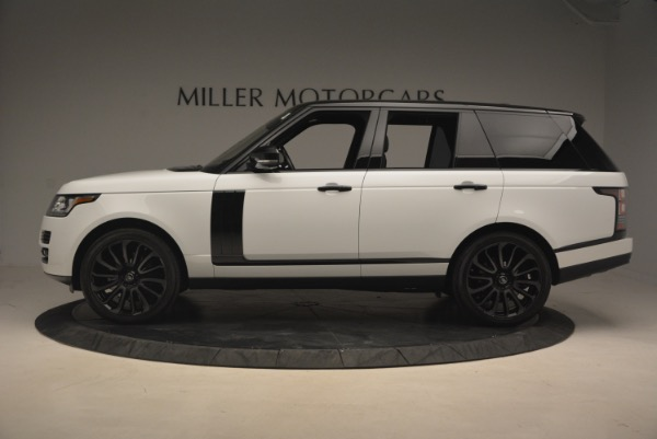 Used 2015 Land Rover Range Rover Supercharged for sale Sold at Aston Martin of Greenwich in Greenwich CT 06830 3