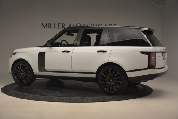 Used 2015 Land Rover Range Rover Supercharged for sale Sold at Aston Martin of Greenwich in Greenwich CT 06830 4