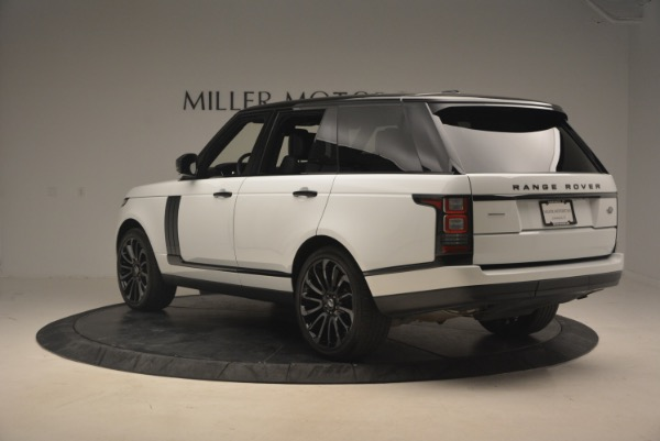 Used 2015 Land Rover Range Rover Supercharged for sale Sold at Aston Martin of Greenwich in Greenwich CT 06830 5