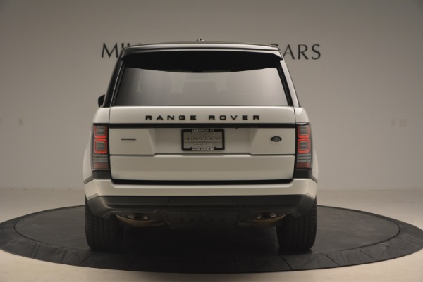 Used 2015 Land Rover Range Rover Supercharged for sale Sold at Aston Martin of Greenwich in Greenwich CT 06830 6