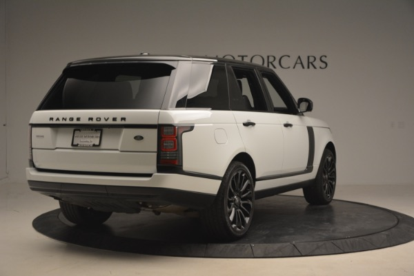 Used 2015 Land Rover Range Rover Supercharged for sale Sold at Aston Martin of Greenwich in Greenwich CT 06830 7